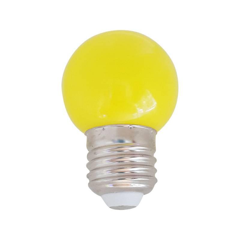 ampoule led jaune 1w culot e27 d corative. Black Bedroom Furniture Sets. Home Design Ideas