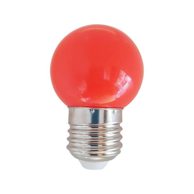 Ampoule led rouge 1w culot e27 d corative - Ampoule led rouge ...