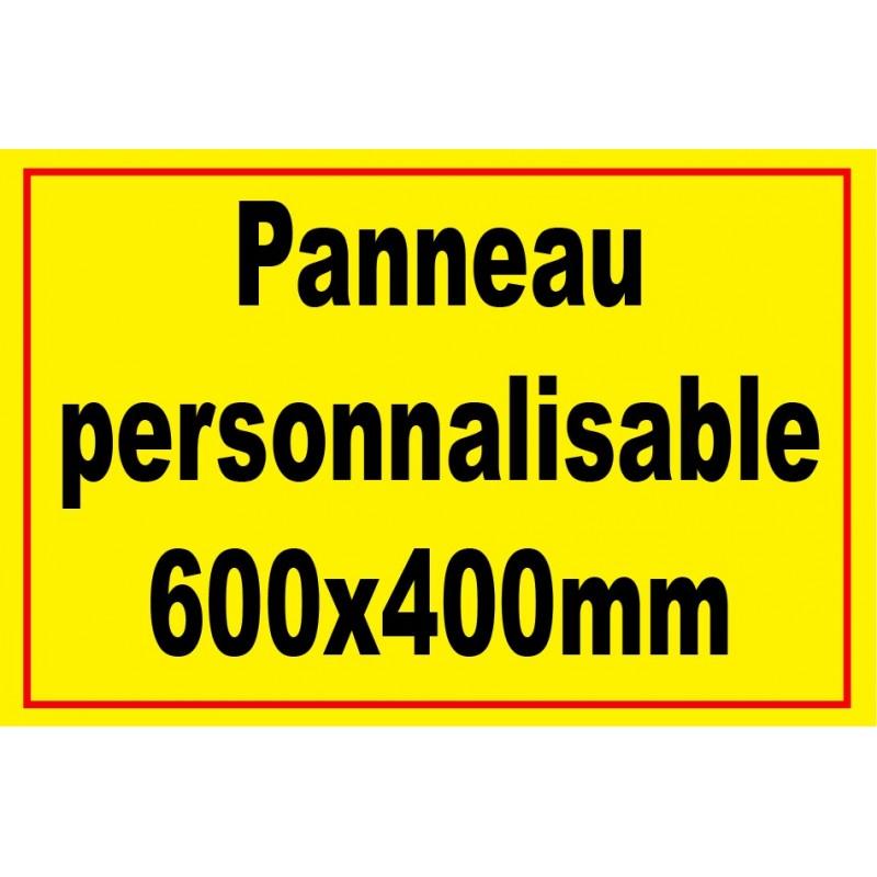 Panneau signal tique personnalis - Panneau de signalisation personnalise ...