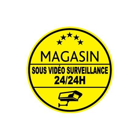 Magasin sous vidéo surveillance 24h24 (lot de 10p)
