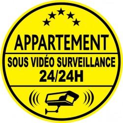 Appartement sous vidéo surveillance 24h24 (lot de 10p)