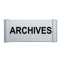 Plaque de porte aluminium archives