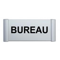 Plaque de porte aluminium bureau