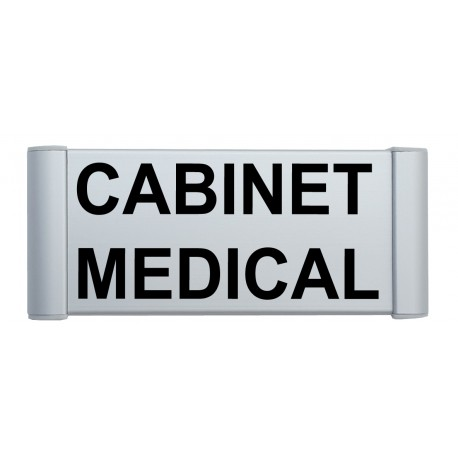 "Plaque de porte Alu ""CABINET MEDICAL"""