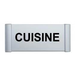 Plaque de porte aluminium cuisine