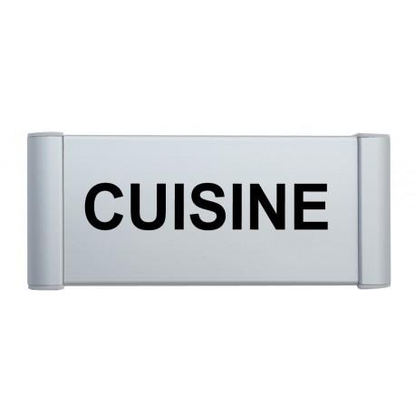 """Plaque de porte Alu """"CUISINE"""""""