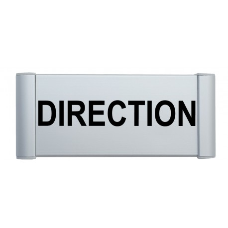 "Plaque de porte Alu ""DIRECTION"""