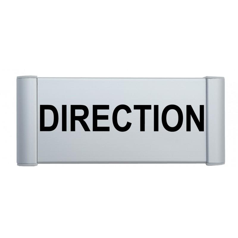 Plaque de porte alu direction - Plaque de porte design ...