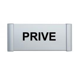 Plaque de porte aluminium privé