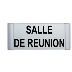 "Plaque de porte Aluminium ""salle de réunion"""