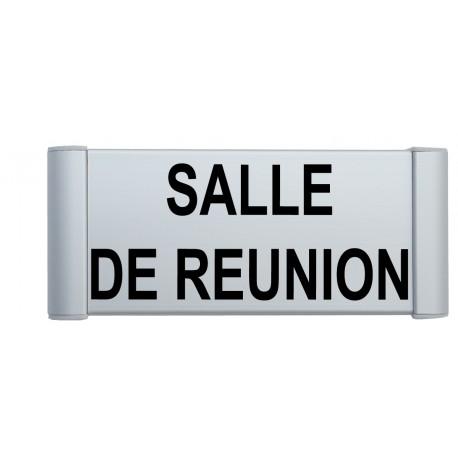 "Plaque de porte Alu ""SALLE DE REUNION"""