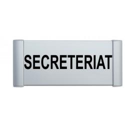 "Plaque de porte Alu ""SECRETERIAT"""