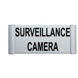 Plaque de porte aluminium surveillance caméra