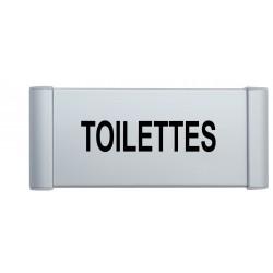 """Plaque de porte Aluminium """"toilettes"""""""