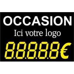 """Panneau commercial """"OCCASION"""""""