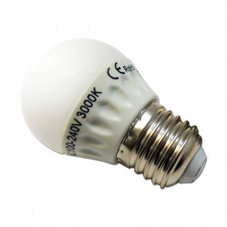 Ampoule sphérique LED B45 E27 4W