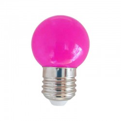 Ampoule LED E27 1w, Rose