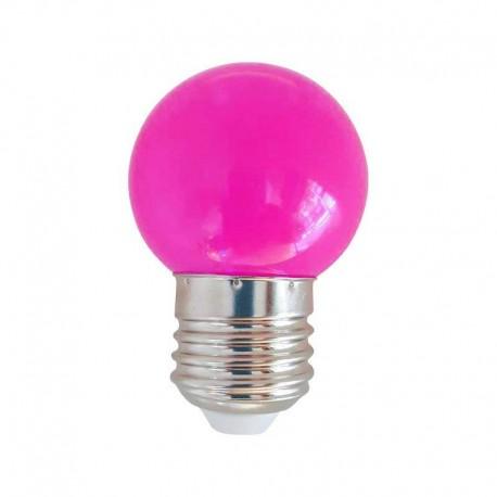 Ampoule LED E27 1w, Rose