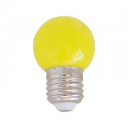 Ampoule LED E27 1w, Jaune