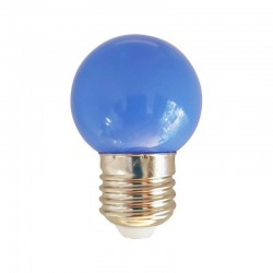 Ampoule LED E27 1w, Bleu
