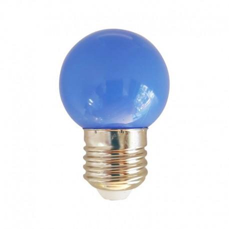 Ampoule 1w E27 Bleu Culot Led Décorative BQrCsdthxo
