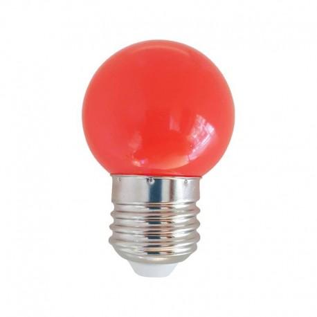 Ampoule LED E27 1w, Rouge