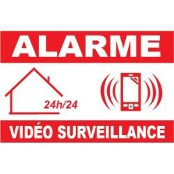 Panneau de dissuasion alarme vidéo surveillance