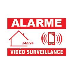 Alarme vidéo surveillance 24h/24