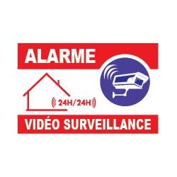 Panneau alarme vidéo surveillance