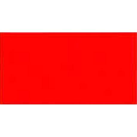 Adhésif fluo de couleur rouge