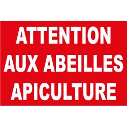 Attention aux abeilles apiculture