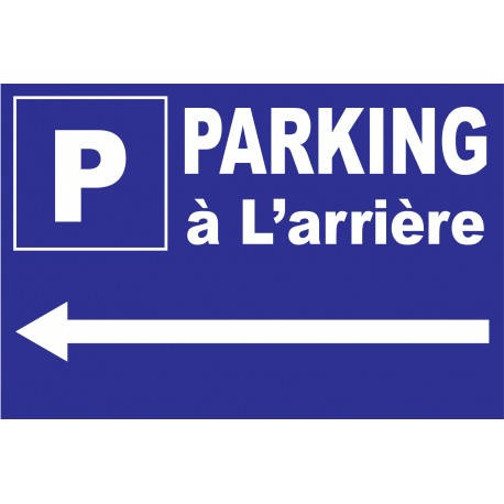 Parking a L'arriere a Gauche