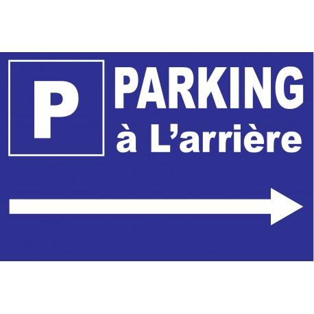 Parking a L'arriere a Gauche