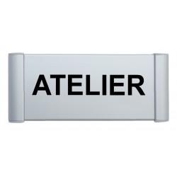 """Plaque de porte Aluminium """"ATELIER"""""""