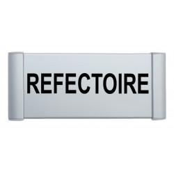 "Plaque de porte Alu ""REFECTOIRE"""
