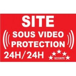 """Panneau """"Site sous vidéo protection"""""""