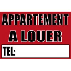 """Panneau """"Appartement à louer"""""""