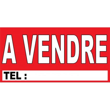 "banderole ""A VENDRE"" 1000x500mm"