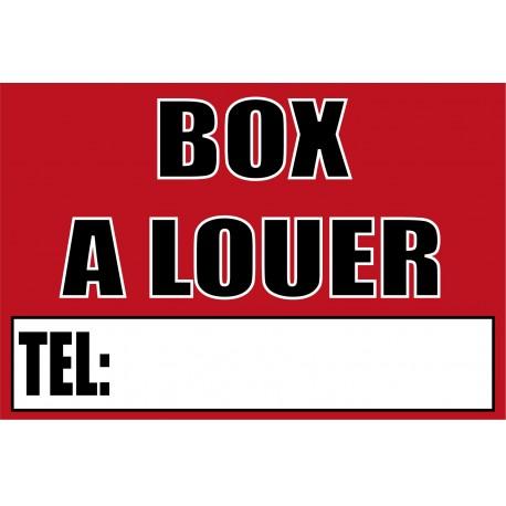 Box à louer