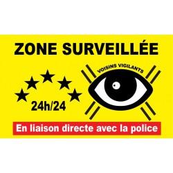 """Panneau voisins vigilants """"police"""""""