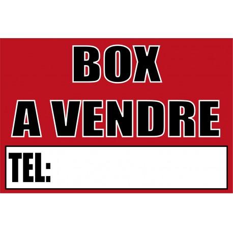 Box à vendre
