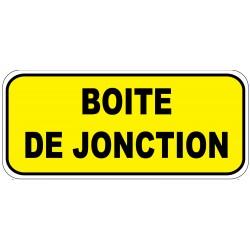 """Etiquette """"Boite de jonction"""". Lot de 20ex"""