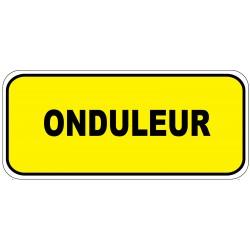 """Etiquette """"Onduleur"""". Lot de 20ex"""