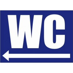 WC direction gauche