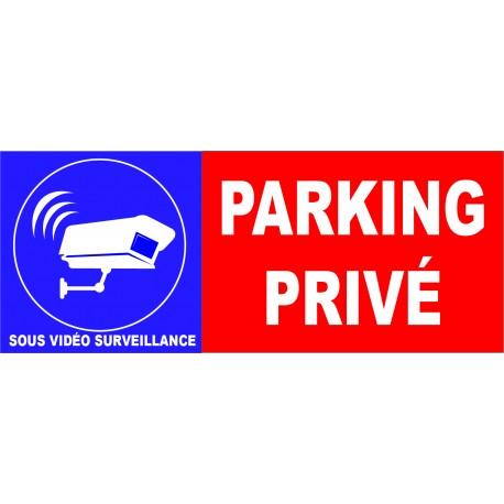 Parking  sous vidéo surveillance