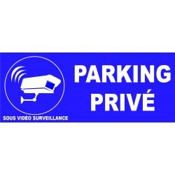 Parking privé site sous vidéo surveillance sous vidéo surveillance