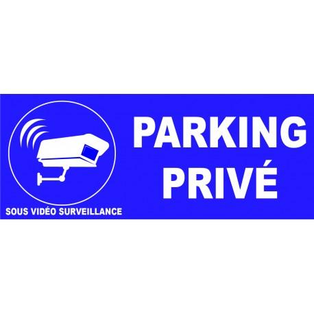 Parking privé sous vidéo surveillance