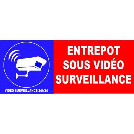 Tout dépôt interdit site sous vidéo surveillance