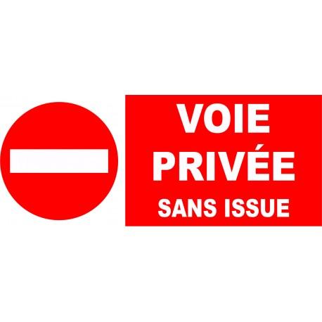 Interdit propriété privée