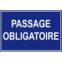 Passage obligatoire